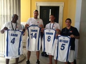 שחקני נבחרת 3X3 2012