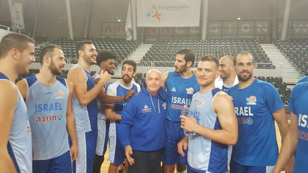 נבחרת ישראל בהכנה ליורובאסקט
