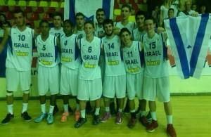 נבחרת הקדטים באליפות אירופה 2014