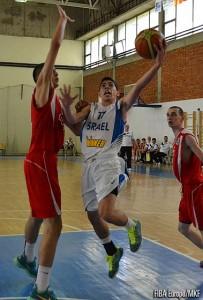 קורן ג'ורנו באליפות. FIBA Europe/MKF